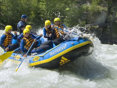 Rafting in the Tyrolean Oberland